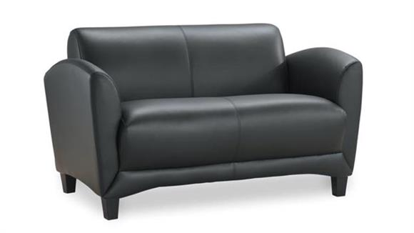 Loveseats Office Source Furniture Leather Loveseat