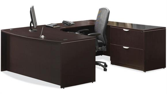 U Shaped Desks Office Source Furniture U Shaped Desk with Lateral File