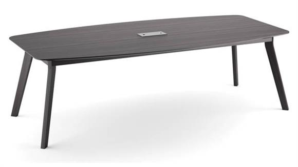 "Conference Tables Office Source Furniture 94"" Boat Shaped Conference Table"