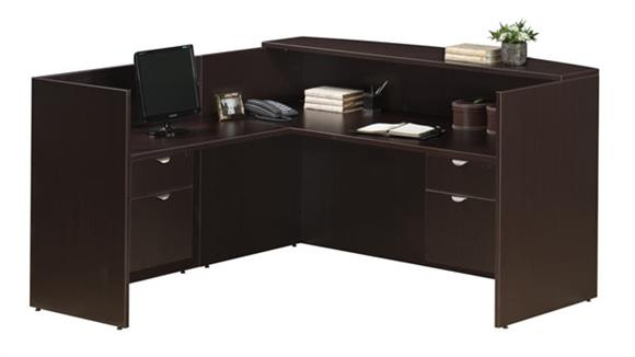 Reception Desks Office Source Furniture L Shaped Reception Desk