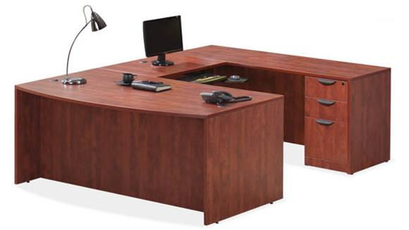 U Shaped Desks Office Source Furniture U Shaped Desk with 2 Pedestals