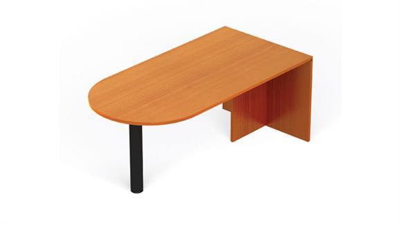 "Executive Desks Office Source Furniture 71"" x 36"" Bullet Desk"