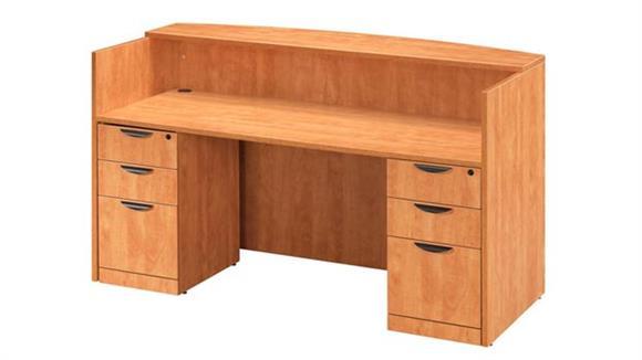 Reception Desks Office Source Furniture Double Pedestal Reception Desk