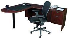 "L Shaped Desks Office Source Furniture 66"" x 78"" Bullet L Shaped Desk"