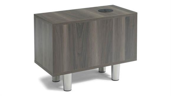 End Tables Office Source Furniture Rectangle Power Pod