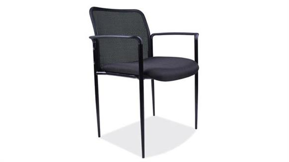 Side & Guest Chairs Office Source Furniture Side Chair with Mesh Back