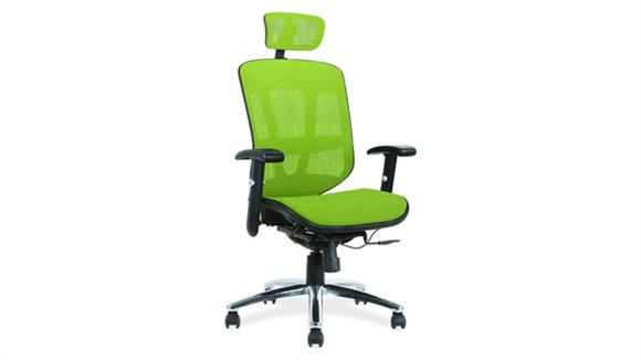 Office Chairs Office Source Furniture Mesh Mid Back Task Chair with Headrest