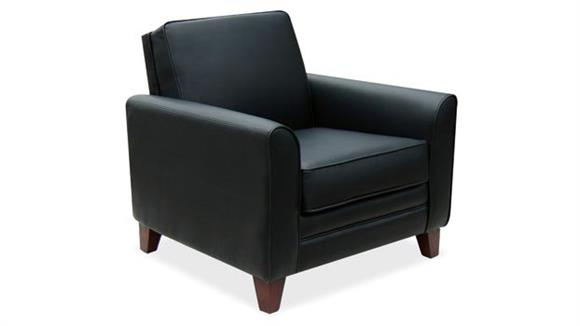 Side & Guest Chairs Office Source Furniture Executive Club Chair