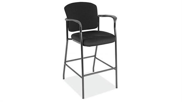 Counter Stools Office Source Furniture Fabric Guest Stool with Arms