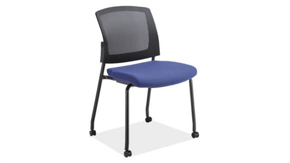 Side & Guest Chairs Office Source Furniture Armless Micro Side Chair with Casters