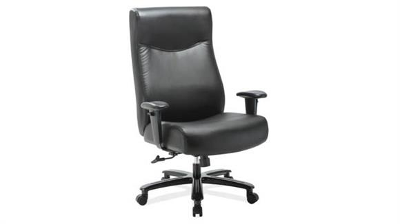 Big & Tall Office Source Furniture Big & Tall Executive with Black Frame