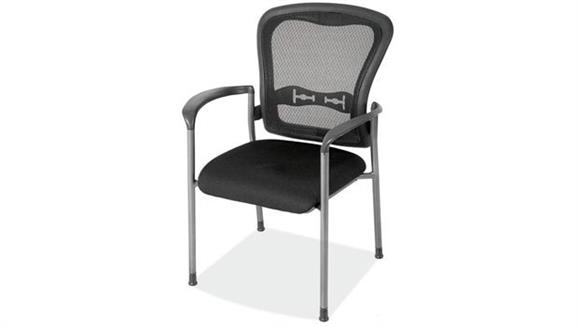 Side & Guest Chairs Office Source Furniture Mesh Back Guest Chair with Arms