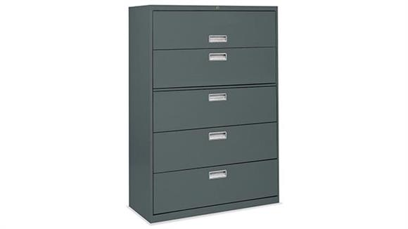 File Cabinets Lateral Office Source Furniture 5 Drawer Lateral File