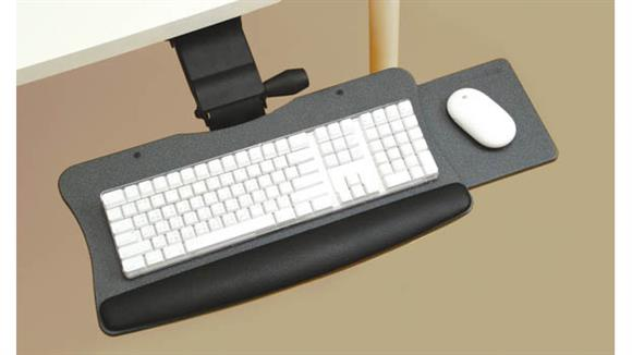 Keyboard Trays Office Source Furniture Lift & Lock with Slide Out Keyboard System