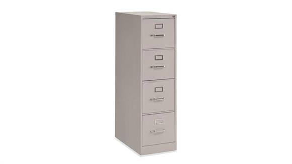 "File Cabinets Vertical Office Source Furniture 25"" Deep 4 Drawer Vertical File"