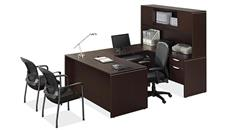 "U Shaped Desks Office Source Furniture 71"" U Shaped Desk with Hutch"