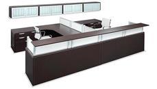 Reception Desks Office Source Furniture 2 Person Reception Workstation
