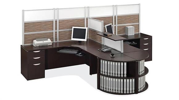 Workstations & Cubicles Office Source Furniture 2 Person Workstation