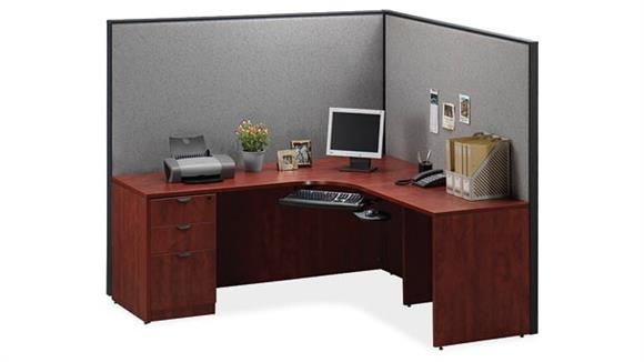 Workstations & Cubicles Office Source Furniture L Shaped Workstation
