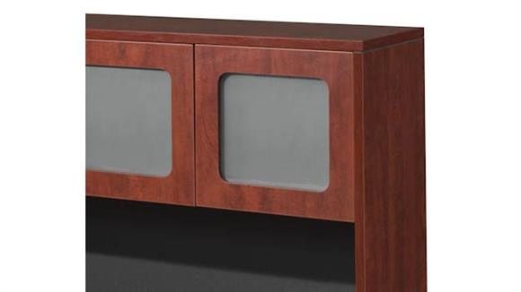 Hutches Office Source Furniture Laminate Framed Glass Doors for Hutch