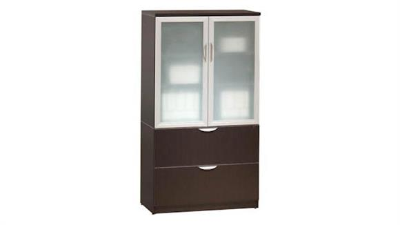 File Cabinets Lateral Office Source Furniture 2 Drawer Lateral File with Storage