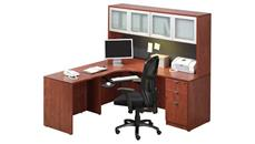 Corner Desks Office Source Furniture Corner Desk with Hutch