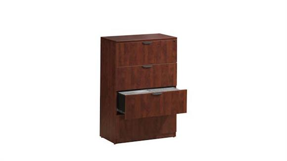 File Cabinets Lateral Office Source Furniture 4 Drawer Lateral File