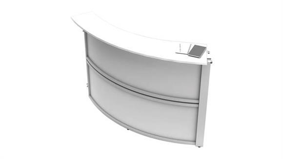 Reception Desks Office Source Furniture Reception Single Panel Add-On