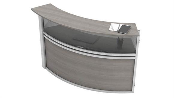 Reception Desks Office Source Furniture Reception Station Single Panel Add-On