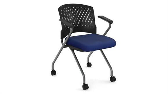 Stacking Chairs Office Source Furniture Nesting Chair with Arms