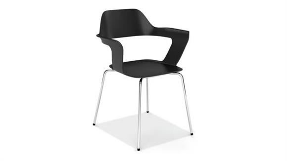 Stacking Chairs Office Source Furniture Stackable Sled Base Chair