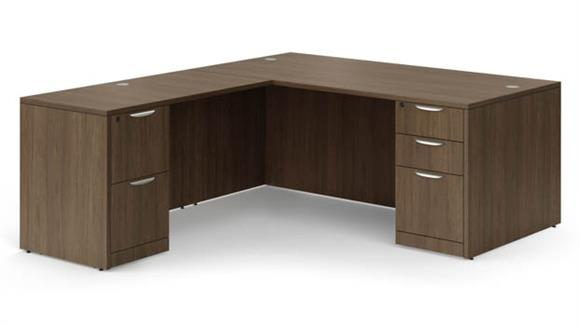"L Shaped Desks Office Source Furniture 72"" x 84"" L Shaped Desk"