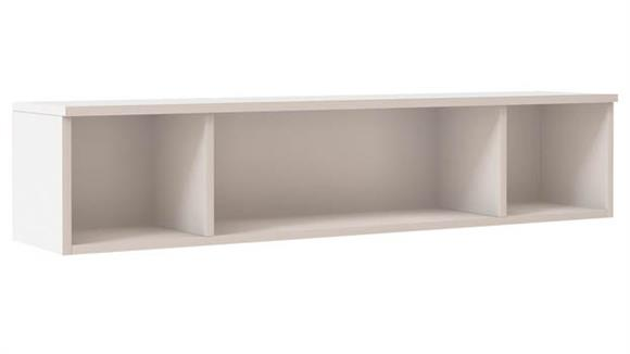 """Hutches Office Source Furniture 72"""" W Open Hutch Wall Mount"""
