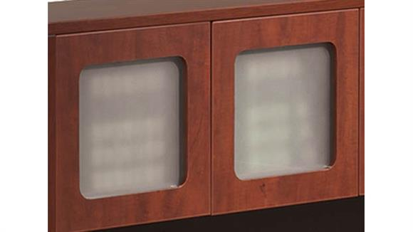 Hutches Office Source Furniture Laminate Framed Glass Doors (Set of 2)