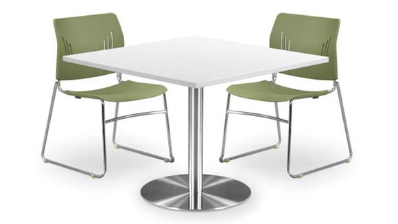 """Cafeteria Tables Office Source Furniture 30"""" Square Top Cafeteria Table"""