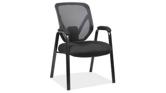 Big & Tall Office Source Furniture Mesh Back Guest Chair