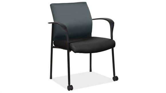 Side & Guest Chairs Office Source Furniture Guest Chair with Front Casters