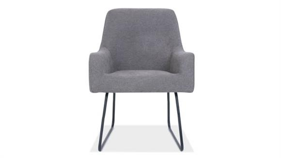 Office Chairs Office Source Furniture Guest Chair with Black Base