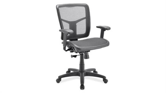 Office Chairs Office Source Furniture Cool Mesh Task Chair with Arms and Black Frame