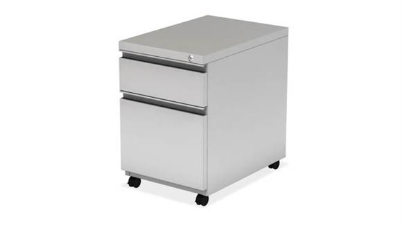 Mobile File Cabinets Office Source Furniture Metal 2 Drawer Mobile Pedestal