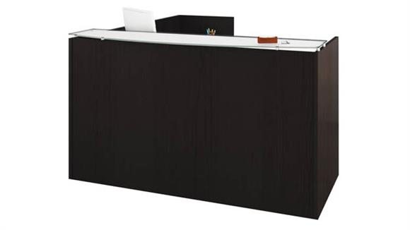 Reception Desks Office Source Furniture L Shaped Reception Desk Unit