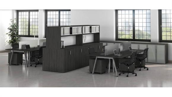 Workstations & Cubicles Office Source Furniture 8 Person Workstations