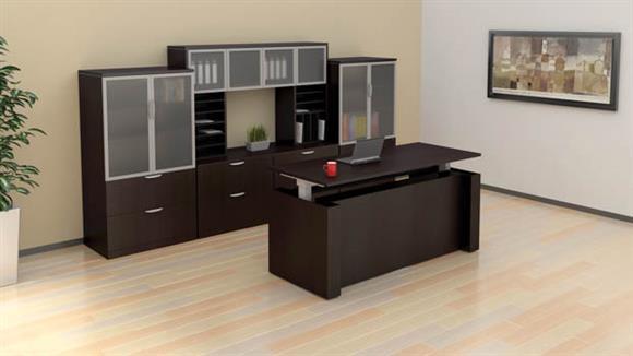 Adjustable Height Desks & Tables Office Source Furniture Standup Desk Set