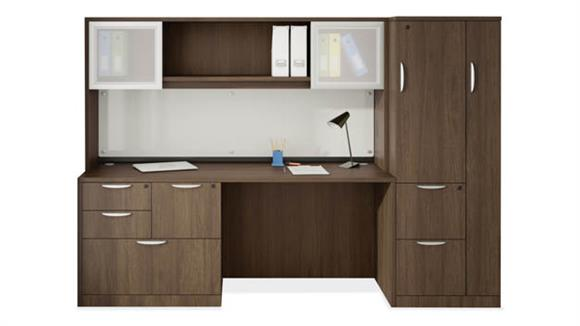 Office Credenzas Office Source Furniture Credenza Unit with Storage