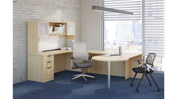 U Shaped Desks Office Source Furniture U Shaped Unit