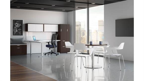 Standing Height Desks Office Source Furniture L Shaped Standing Desk Unit