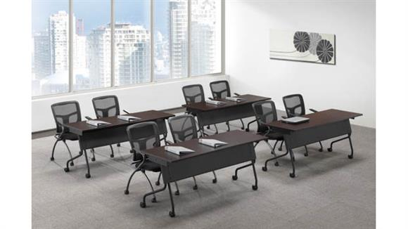 "Training Tables Office Source Furniture Training Tables 60"" x 24"" (4)"