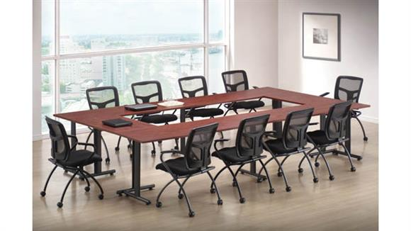 "Training Tables Office Source Furniture Training Tables 72"" x 24"" (4) and 36""x 24"" (2)"