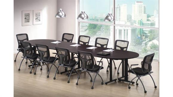 "Training Tables Office Source Furniture Training Tables - Rectangular 66"" x 30"" (4), Half Round 60"" x 30"" (2)"