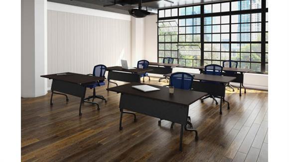 "Training Tables Office Source Furniture 60""W Training Tables (6)"